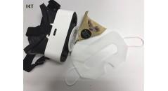 produits non-tissés, lunettes 3D VR, yeux protecteurs, masques pour les yeux