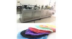 machine de fabrication de chapeau non-tissé, machine de fabrication de chapeau, technologie de kaxite, faisant la machine, machine de fabrication de couverture de chaussure