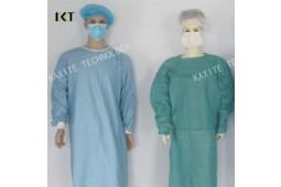 Jetables, blouse chirurgicale, SMS, non-tissé